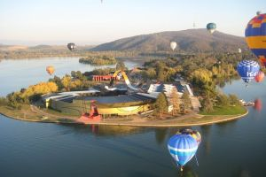 Canberra Hot Air Balloon Flight at Sunrise - Kalgoorlie Accommodation